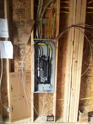 Residential new construction house wiring Kent, WA ... on